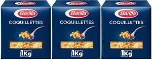 Lot de 3 Boîtes de Pâtes Barilla (Variétés au choix) - 3 x 1 kg