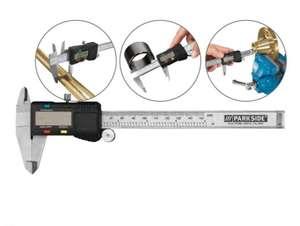 Sélection d'outils de mesure Parkside - Ex : Pied à coulisse numérique Parkside - plage de mesure 0-150 mm