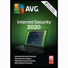 Logiciel antivirus AVG Internet Security 2020 gratuit sur PC - Licence d'un an, 1 appareil (Dématérialisé)