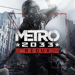 Metro 2033 Redux ou Metro: Last Light Redux sur PC (Dématérialisé)