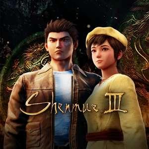 Sélection de jeux PC en promotion - Ex: Shenmue III à 24.99€ ou Far Cry Primal à 5.99€ (Dématérialisé)