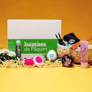 Coffret Surprises de Pâques - Edition limitée : 3 Sextoys + 1 Mini Chandelle + 2 Lubrifiants + 1 Etui