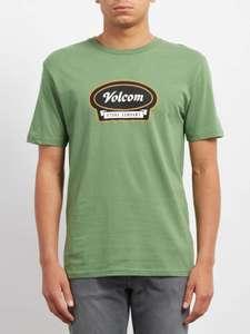 Sélection de t-shirts et vêtements Volcom en promotion - Ex : T-shirt Cresticle Dark Kelly - Tailles S et M