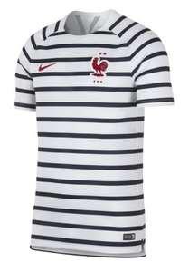 Maillot Nike Marinière France 2 Etoiles - Blanc/Bleu, Taille XXL
