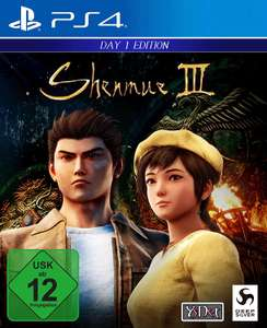 Shenmue III Day One Edition sur PS4