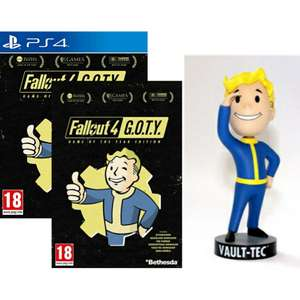 Fallout 4 Game Of The Year Edition sur PC à 5.99€ & PS4 à 12.99€ + Figurine Bobblehead