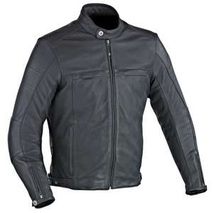 Blouson de moto en cuir Ixon Copper Slick - Tailles M à XXXL