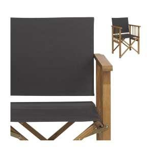 Toile en coton anthracite pour fauteuil pliant Africa (frais de livraison inclus)