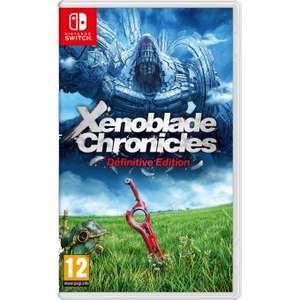 [Précommande / Adhérents] Xenoblade Chronicles Definitive Edition sur Nintendo Switch + Poster Xenoblade (+ 10€ sur le compte fidélité)
