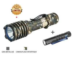 Lampe Olight Warrior X Pro - Édition Limitée + Lampe I5T EOS (olightstore.fr)