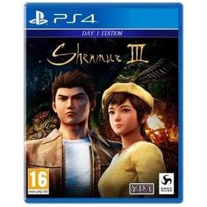 Jeu Shenmue III + Steelbook sur PS4