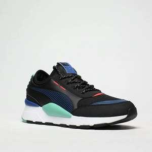 Baskets basses Puma RS-O pour Hommes - Noir & Bleu, Diverses tailles