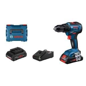 Perceuse-visseuse sans fil Bosch Professional GSR 18V-55 + 2 batteries Procore 18V 4.0Ah + Chargeur GAL 18V-40 (mytoolstore.fr)