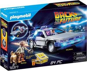 Jouet Playmobil - Retour vers le futur DeLorean (70317)