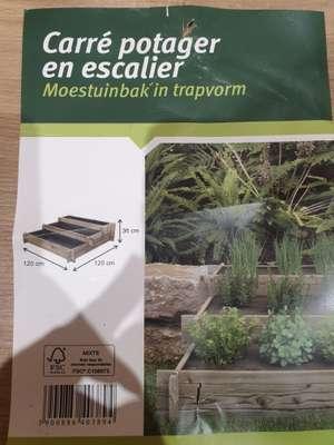 Escalier de légumes potager - Villiers en Biere (77)