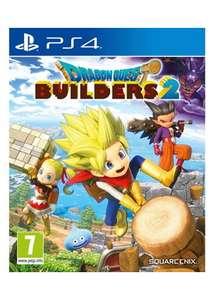 Sélection de jeux sur PS4 & Nintendo Switch en promotion - Ex : Dragon Quest Builders 2 sur PS4 (Import UK)