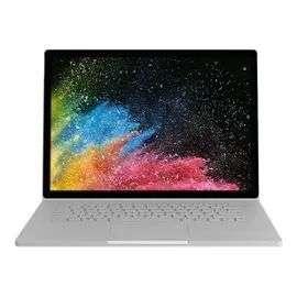"PC Portable 13.5"" Microsoft Surface Book 2 - i7-8650U, 8 Go RAM, 256 Go SSD (Azerty) - Argent (+78.72€ en SuperPoints)"