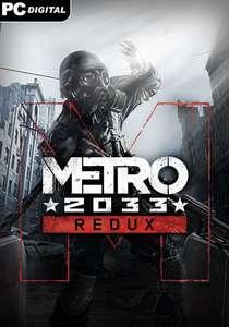 Metro 2033 Redux sur PC (Dématérialisé)