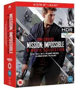 Coffret Blu-ray 4K Mission Impossible - L'intégrale des 6 films