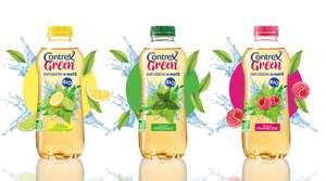 Lot de 2 bouteilles Contrex Green Thé Bio / infusion de Maté Bio via réduction + remboursement Shopmium