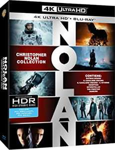 Christopher Nolan Collection 4K ULTRA 19 Discs (7 Blu-Ray 4K UHD + 7 Blu-Ray + 5 DVD)