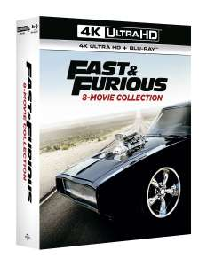 Coffret Blu-ray + 4K Fast and Furious - Collection des 8 films