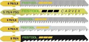 Jeu de lames de scie sauteuse Festool STS-Sort/25 Wl (machines-a-bois.pro)