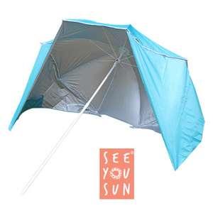 Tente Parasol avec voile solaire
