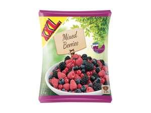 Fruits surgelés XXL 1kg - Fraise, Framboise ou Fruits rouges