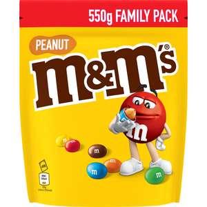 Lot de 3 paquets de M&M's - 3 x 550 g