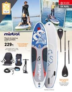 Pack Stand-up paddle gonflable Mistral (siège, sacs, leash, pompe etc... 320x84x15cm)
