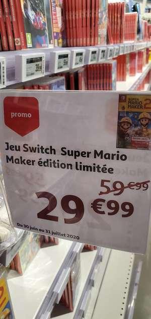 Super Mario Maker 2 Edition Limitée sur Nintendo Switch + Abonnement Online 12 mois (Cloche d'Or - Frontaliers Luxembourg)