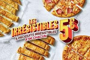 Sélection de produits à 5€ - Ex : pizza Solo Classic Chèvre, Jambon-Fromage ou Margherita