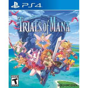 Jeu Trials of Mana sur PS4 (Frais de port inclus)