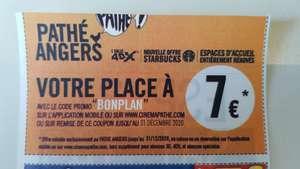 Place de cinéma à 7€ - Angers (49)