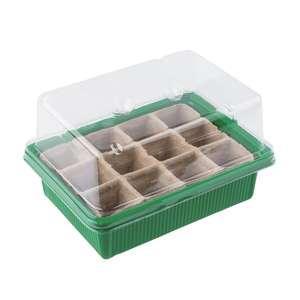 Mini serre 12 cellules - Germination et Croissance des graines - Les Herbiers (85)