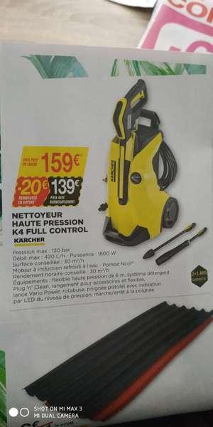Nettoyeur haute pression Karcher K4 (via ODR de 20€)