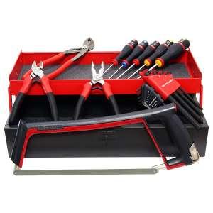 Caisse à outils + 18 outils Facom
