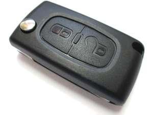 Clé de voiture Plip CE0536 pour Peugeot et Citroen