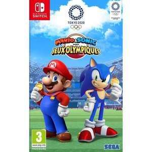 Mario & Sonic aux Jeux Olympiques de Tokyo 2020 sur Nintendo Switch