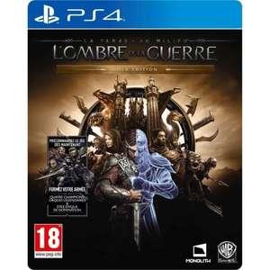 La Terre du Milieu: L'Ombre de la Guerre - Gold Edition sur PS4 (vendeur tiers)