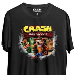 Sélection de T-shirts et de Wootbox en promotion + 10% de remise dès 50€ d'achat - Ex : T-Shirt Retro II - Crash Bandicoot