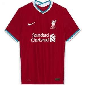 Maillot de football Liverpool domicile Authentique 2020/2021 pour Homme - Taille au choix