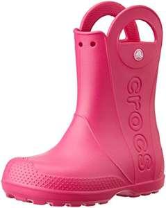Bottes de pluie Crocs - rose, du 24 au 35