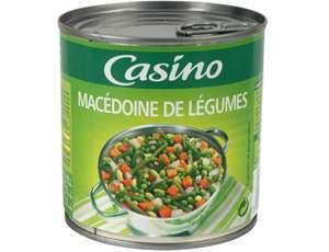 34% de réduction sur une sélection de produits - Ex : boîte Casino Macédoine de Légumes Casino (265 g)