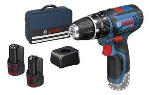 Perceuse visseuse à percussion sans fil 12v Bosch Pro avec 2 batteries 2Ah (mytoolstore.fr)