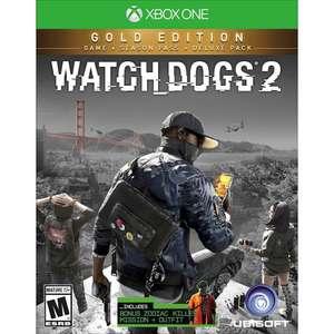 [Abonnés Gold] Watch Dogs 2 Gold Edition sur Xbox One (Dématérialisé)