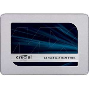 "SSD Interne 2.5"" Crucial MX500 - 2To, DRAM TLC AES"