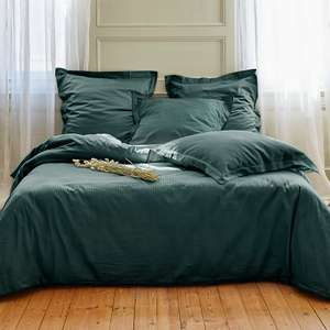 Drap satin de coton Domitille - 240x300 cm, 120 fils/cm², différents coloris