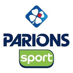 5€ offerts dès 10€ misés dans un point de vente Parions Sport